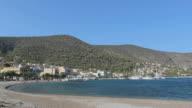 White beach in Greece video