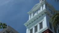 White Clock Tower video