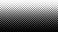 White Dots Pattern on Black Background. video