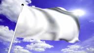 White flag (loop) video