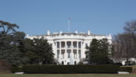 White House in Washington D.C. video