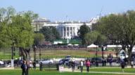 White House in Washington DC video