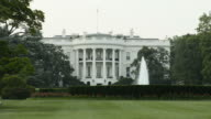 White house panning video