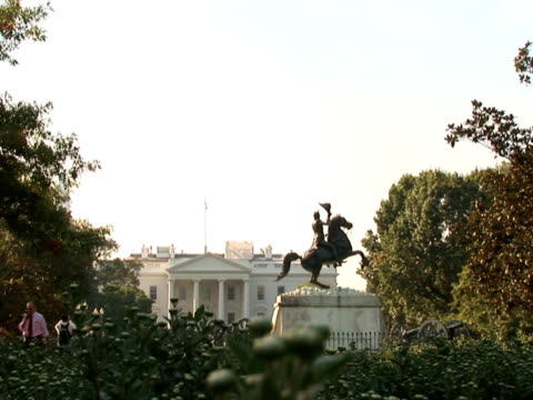 NTSC: White House & statue video