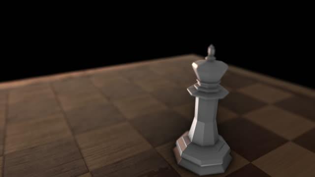 White King piece video