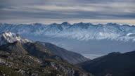 White Mountains Ridge, California video