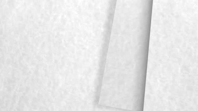 white paper filp video