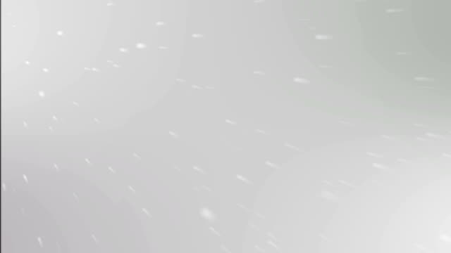 White Particles Background video