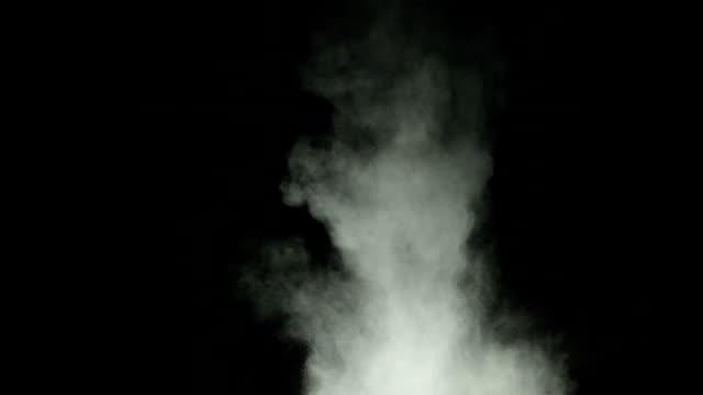 White powder explosion video