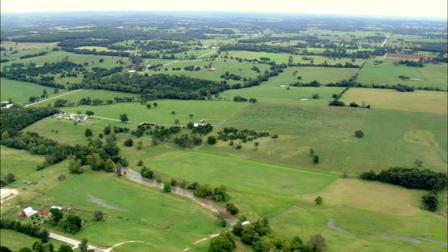 White River Past Edge Of Buffalo River National Park  - Aerial View - Arkansas, Izard County, United States video