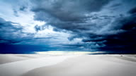 White Sands National Monument timelapse video
