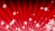 White snow background video