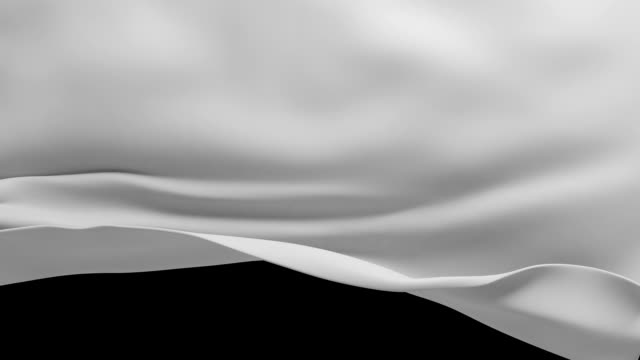 white textile cloth falling down video