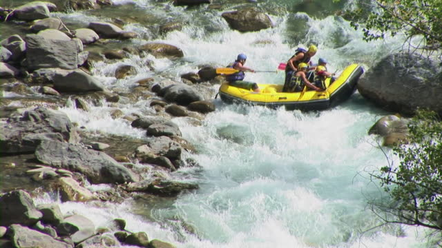 HD: White Water Rafting video