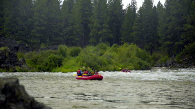 White water rafting video