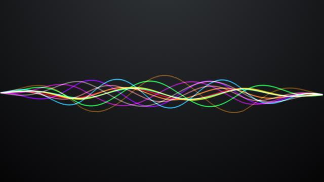 White waveform video