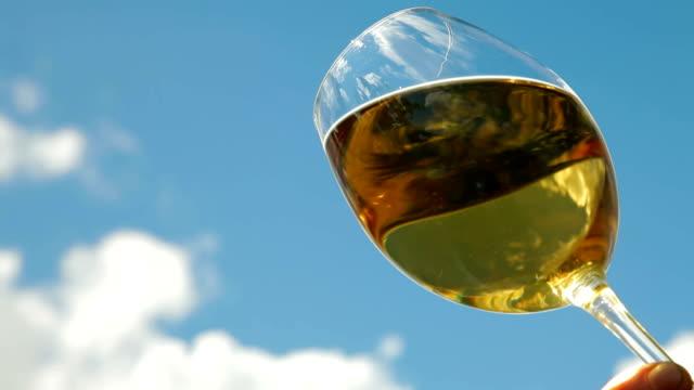 White Wine Glass video