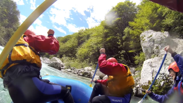 MS Whitewater Rafting video