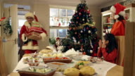 Who wants presents before dinner? video