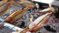 Whole fish roasting machine, red fish grill with charcoal video