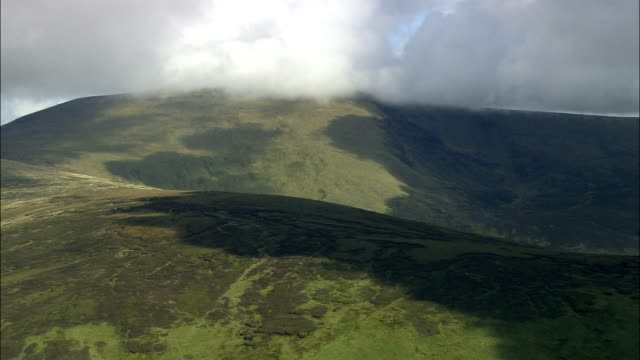 Wicklow Mountains  - Aerial View - Leinster, County Wicklow, Ireland video