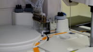 wide close-up device for blood analysis video