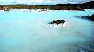 HD Wide Shot of Blue Lagoon, South Iceland video