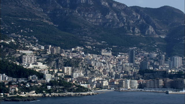 Wide Shots Of Monaco  - Aerial View -, Monaco video