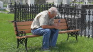 Widower Cemetery Bench video
