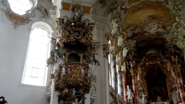Wieskirche church in Germany video