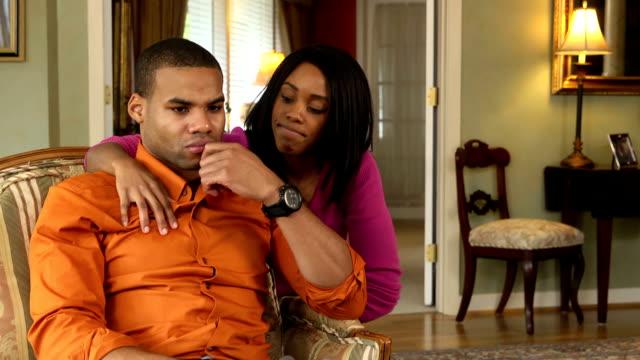 Wife Comforting Husband video