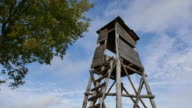 wild boar hunting tower video
