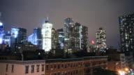 Wild cityscape time lapse video