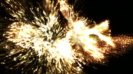 Wild Firework Streamers video