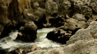Wild water at Gorges L'Herault, France video