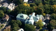William Lloyd Garrison House  - Aerial View - Massachusetts,  Suffolk County,  United States video
