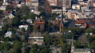 Wilmington  - Aerial View - North Carolina,  New Hanover County,  United States video