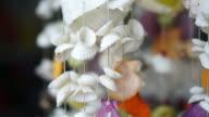 wind chimes seashell handmade craft curtain video