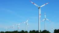 Wind Energy - Windfarm video