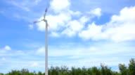 Wind energy-turbines video