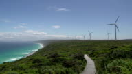 Wind farm at Albany video