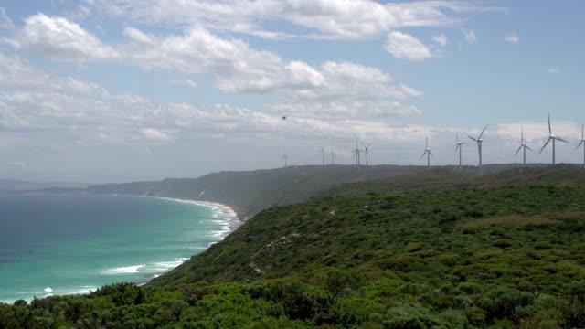 Wind farm at Albany video