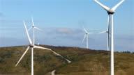 Wind farm. video