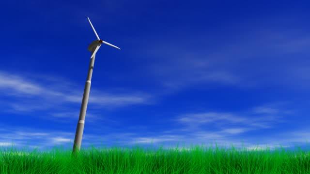 Wind Power Energy Turbine video