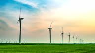 Wind power generation video
