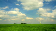 Wind power generators video
