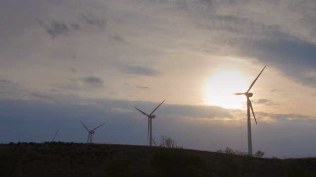 Wind power plants video