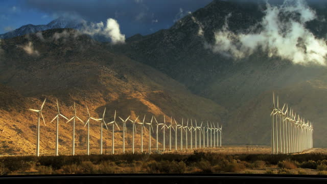 Wind Power Time-lapse video