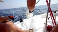 Wind sailing video