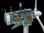 Wind Turbine Animation video